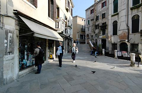 Venedig: Kleiner Platz