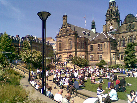 Sheffield today
