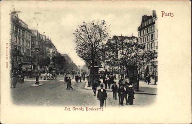 Hotel De Paris Rue De Maubeuge